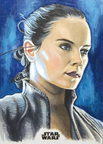 2020 Topps Women of Star Wars Trading Cards 8