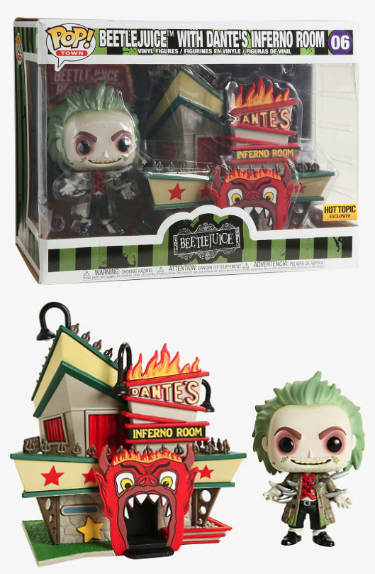 Funko Pop Beetlejuice Vinyl Figures 10