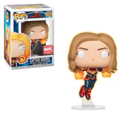 Funko Pop Captain Marvel Movie Figures 21