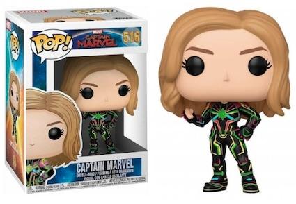 Funko Pop Captain Marvel Movie Figures 25