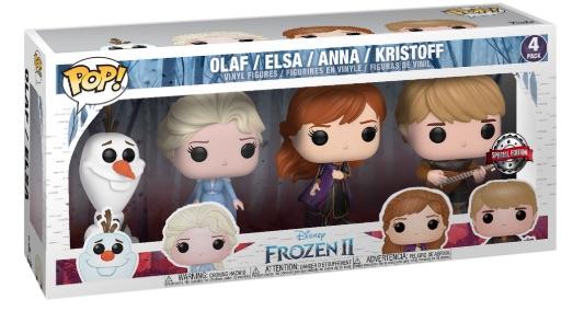 FROZEN 2 II FUNKO POP 589 YOUNG ANNA 9 CM DISNEY FIGURE FILM ELSA OLAF KRISTOFF
