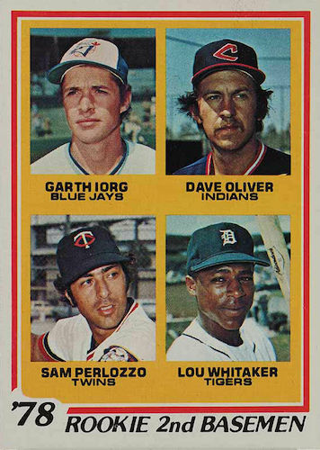 Top 10 Lou Whitaker Baseball Cards 10