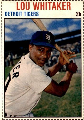 Top 10 Lou Whitaker Baseball Cards 5