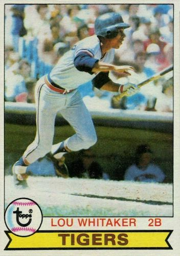 Top 10 Lou Whitaker Baseball Cards 1