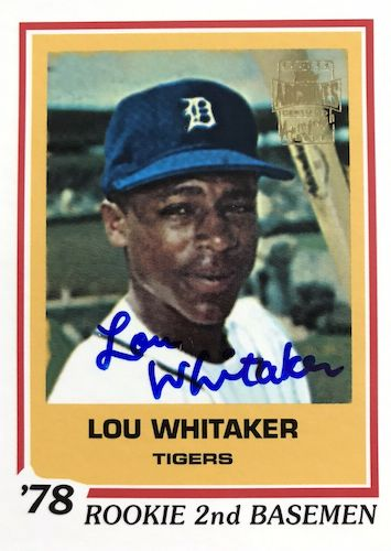 Top 10 Lou Whitaker Baseball Cards 8