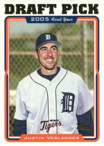 Top Justin Verlander Baseball Cards 7