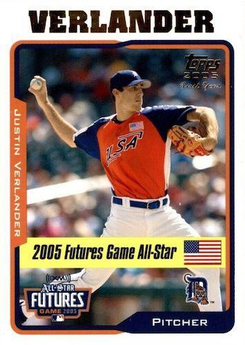 Top Justin Verlander Baseball Cards 1