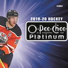 2019-20 O-Pee-Chee Platinum Hockey Cards