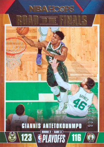 2019-20 Panini NBA Hoops Basketball Cards 45