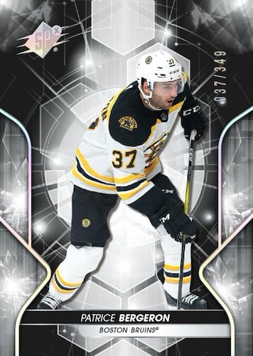 2019-20 SPx Hockey Cards 3