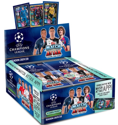 2019 20 Topps Uefa Champions League Match Attax Checklist Info Box