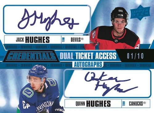 2019-20 Upper Deck Credentials Hockey Cards 9