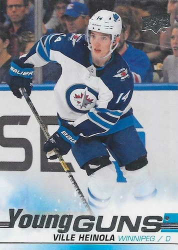 2019-20 Upper Deck Young Guns Rookie Gallery and Checklist 6
