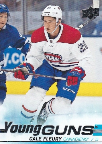 2019-20 Upper Deck Young Guns Rookie Gallery and Checklist 11