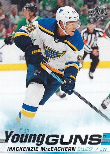 2019-20 Upper Deck Young Guns Rookie Gallery and Checklist 14