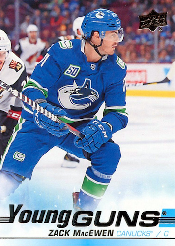 2019-20 Upper Deck Young Guns Rookie Gallery and Checklist 46