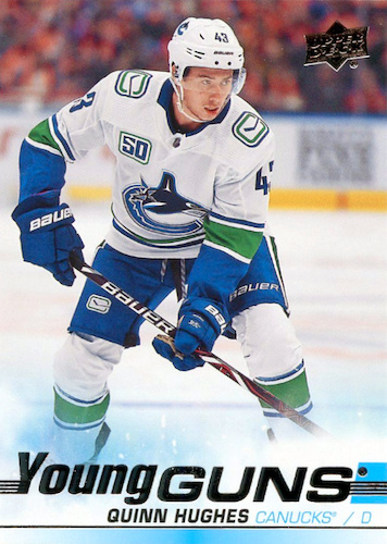2019-20 Upper Deck Young Guns Rookie Gallery and Checklist 51