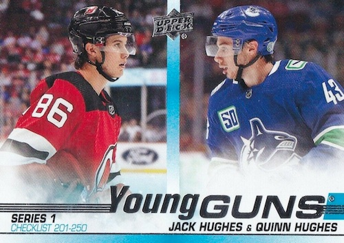 2019-20 Upper Deck Young Guns Rookie Gallery and Checklist 52