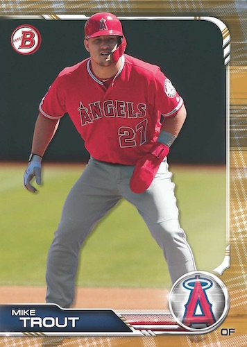 2019 Bowman Topps Holiday Baseball Cards 2