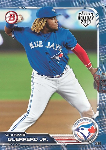2019 Bowman Topps Holiday Baseball Cards 4