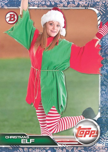 2019 Bowman Topps Holiday Baseball Cards 3