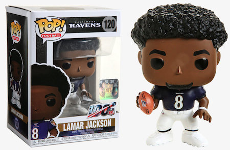 Ultimate Funko Pop NFL Football Figures Checklist and Gallery - 2020 Legends Figures 159