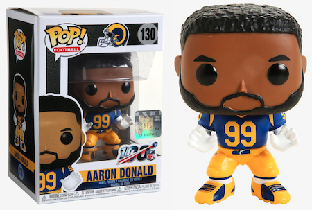 Ultimate Funko Pop NFL Football Figures Checklist and Gallery - 2020 Legends Figures 169
