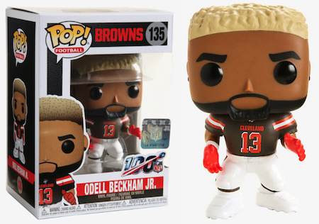 Ultimate Funko Pop NFL Football Figures Checklist and Gallery - 2020 Legends Figures 174