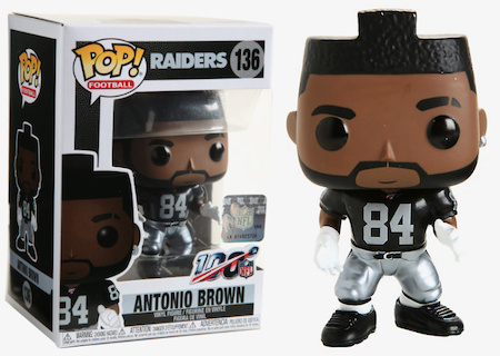 Ultimate Funko Pop NFL Football Figures Checklist and Gallery - 2020 Legends Figures 175