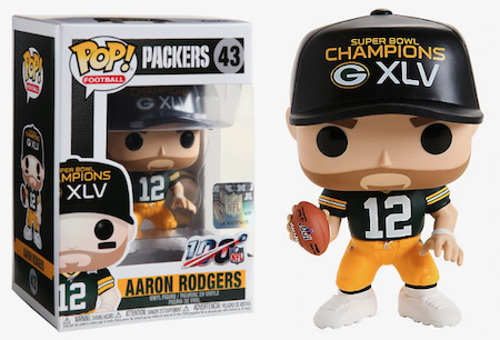 Ultimate Funko Pop NFL Football Figures Checklist and Gallery - 2020 Legends Figures 49