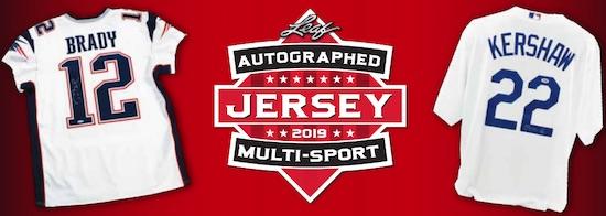 2019 Leaf Autographed Multi-Sport Jersey Edition 3