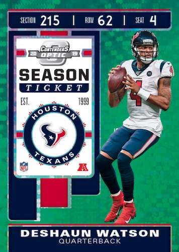 2019 Panini Contenders Optic Football Cards 3
