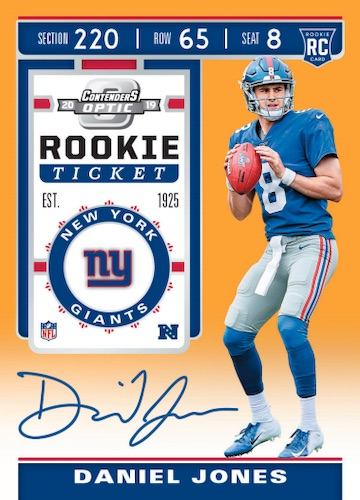 2019 Panini Contenders Optic Football Cards 5