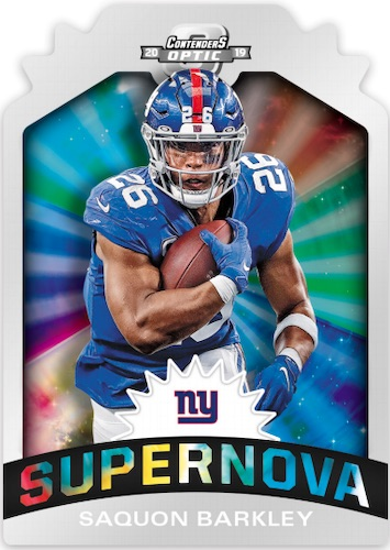 2019 Panini Contenders Optic Football Cards 4