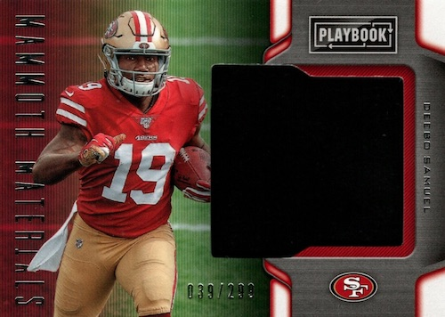 2019 Panini Playbook Football Cards 42