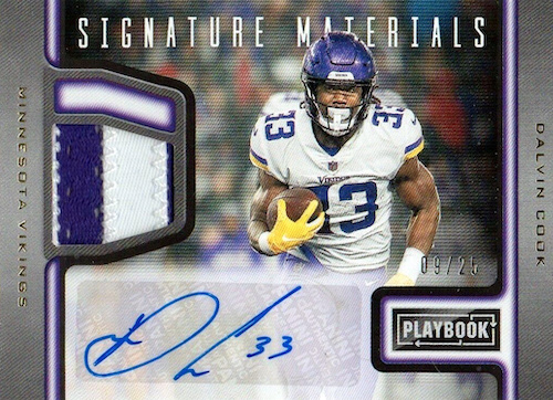 2019 Panini Playbook Football Cards 35