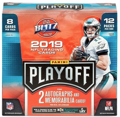 2019 Panini Playoff Football Cards 3