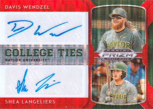 2019 Panini Prizm Draft Picks Baseball Cards 29