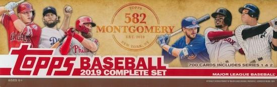 2018-19 Topps 582 Montgomery Club Baseball Cards - Set 5 26