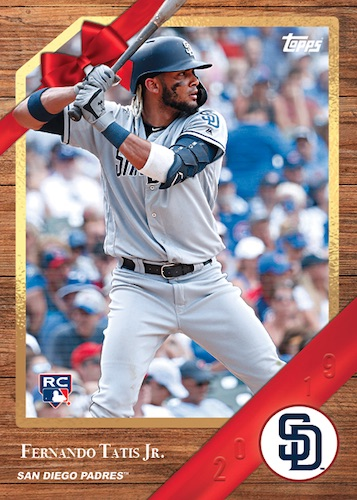 2019 Topps Advent Calendar Baseball Cards 1
