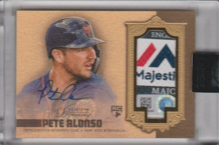 ROY! Pete Alonso Rookie Cards Guide and Top Prospects List 28