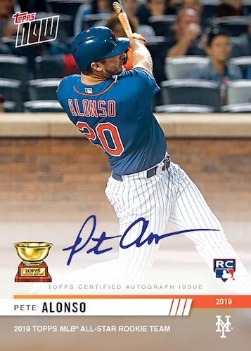 2019 Topps Now Offseason Baseball Cards Checklist 7