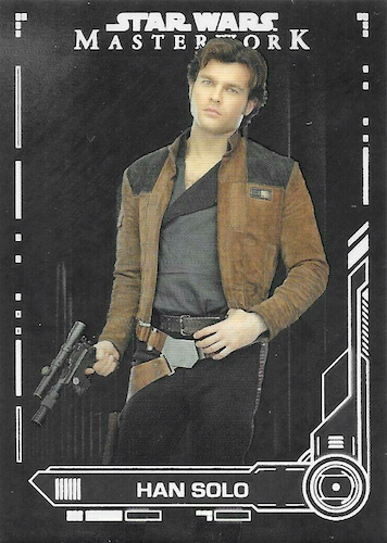 Star Wars Masterwork 2019 Blue Base Card #85 Baze Malbus