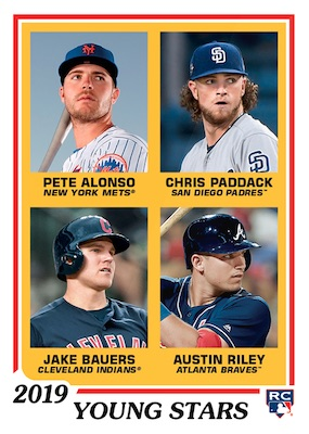 2019 Topps Throwback Thursday Baseball Cards - Set 52 46