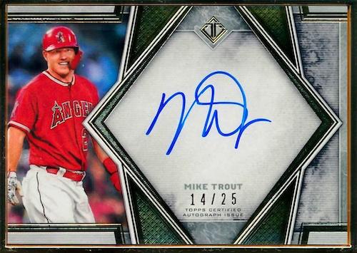 2019 Topps Transcendent Collection Baseball Cards 25