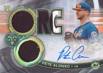 ROY! Pete Alonso Rookie Cards Guide and Top Prospects List 45