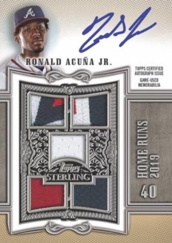 2020 Topps Sterling Baseball Cards 1
