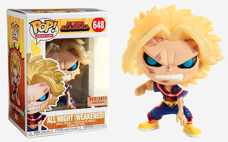 Ultimate Funko Pop My Hero Academia Figures Gallery and Checklist 42