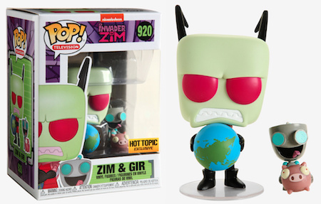 Ultimate Funko Pop Invader Zim Figures Gallery and Checklist 5