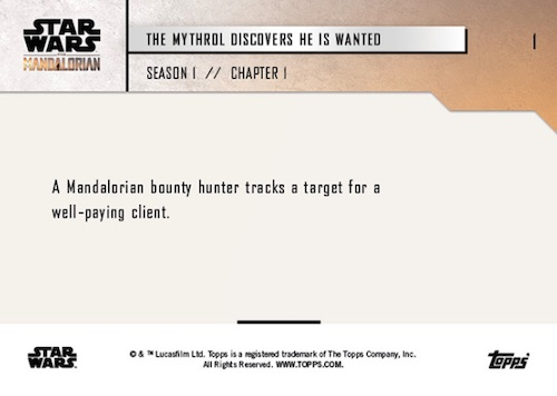 Topps Now Star Wars Mandalorian Trading Cards - Season 2: Chapter 16 2